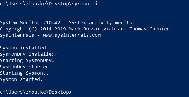 Windows Sysinternal 实用内部监控工具:sysmon