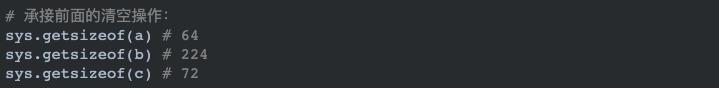 Python 内存分配时的小秘密