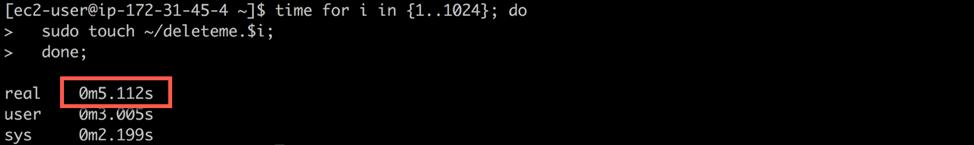 如何测试 Amazon Elastic File System
