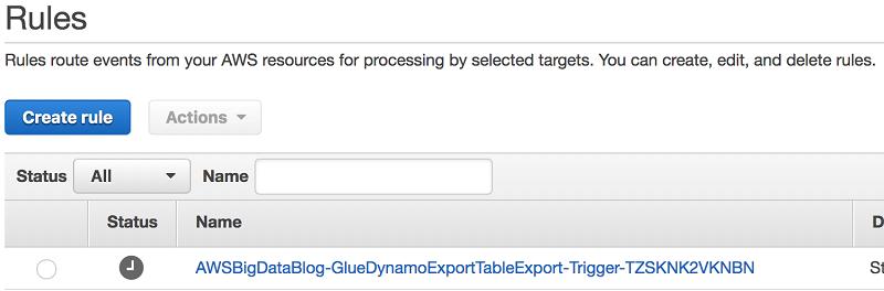 如何使用 AWS Step Functions 和 AWS Glue 将 Amazon DynamoDB 表导出至 Amazon S3