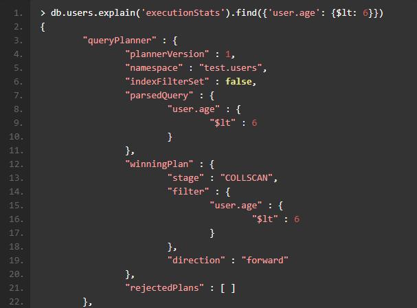 如何通过MongoDB自带的Explain功能提高检索性能?