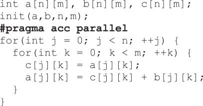 OpenACC高性能并行编程:概念与策略(7):OpenACC概述 1.2.2