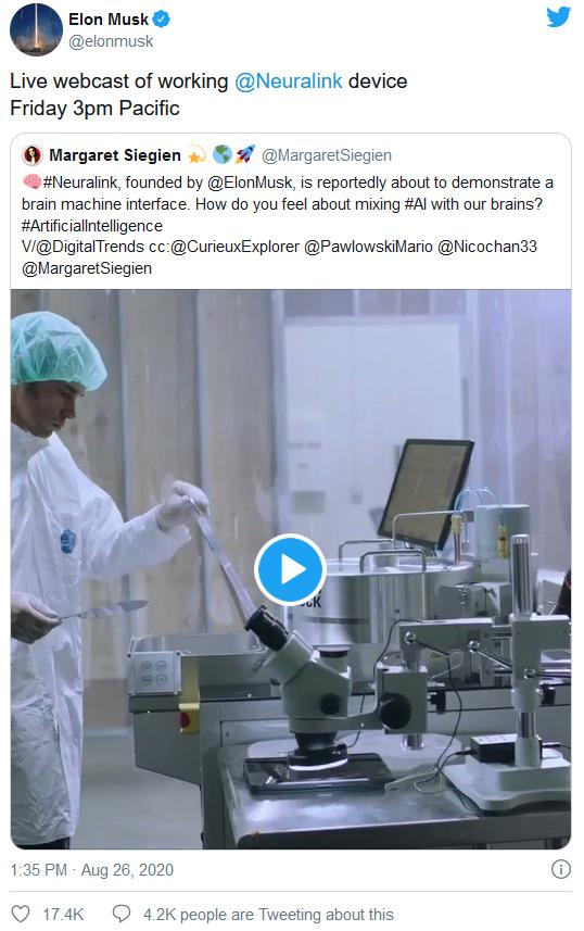 """上火星还不够,马斯克要用脑机接口带领全人类""""进化"""""""