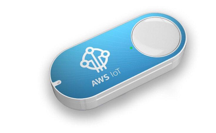 Amazon发布限量版AWS物联网Dash按钮