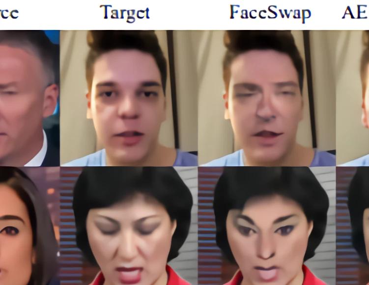 微软北大造出超逼真AI换脸框架,顺便搞了个伪人脸检测器,网友:自造矛和盾?