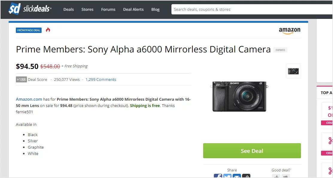 亚马逊会员日出Bug:100美元价格卖出价值1.3万美元的摄像设备
