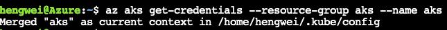 使用 GKE Connect 管理微软 AKS 服务