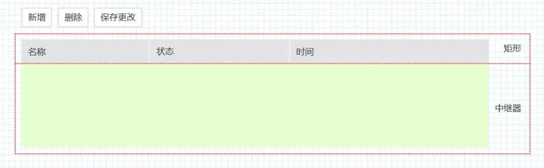 不用编程,一个中继器就能搞定动态表格