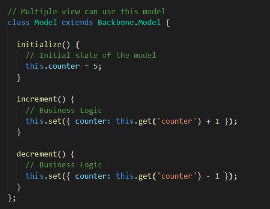 在 Backbone.js 中创建一个模型图