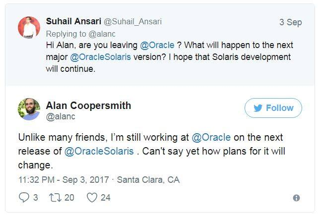 Oracle大幅裁减了Solaris和SPARC团队