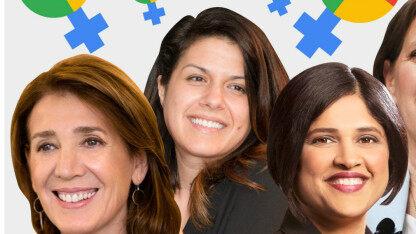 女子能顶半边天,谷歌权势最大的15个女人