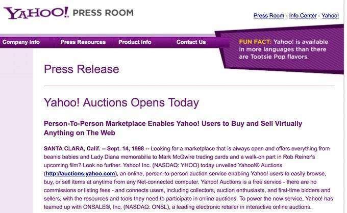 讲述者:eBay 不为人知的起源故事