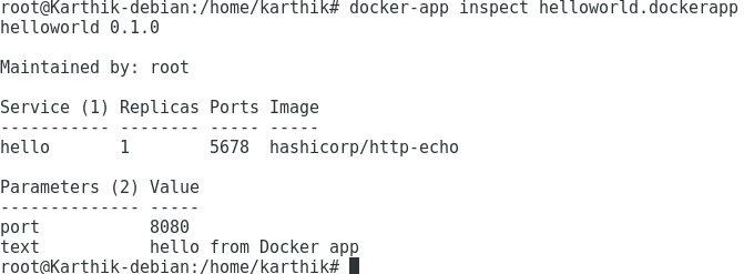 使用Docker Application Package实现跨团队交付应用