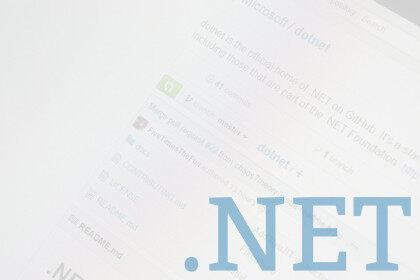 .NET开源简史