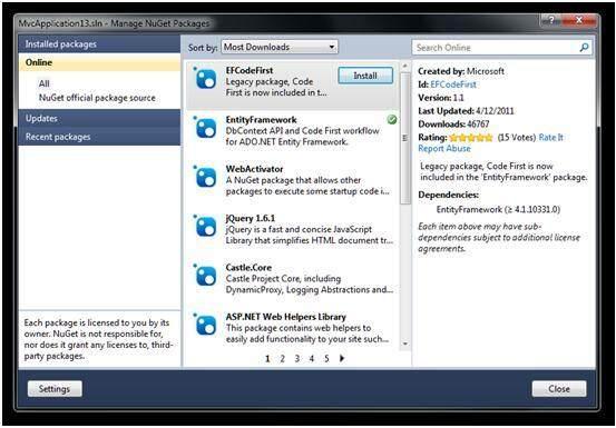 .NET解决方案范围的依赖管理
