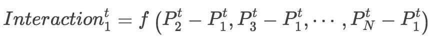 基于神经网络StarNet的行人轨迹交互预测算法