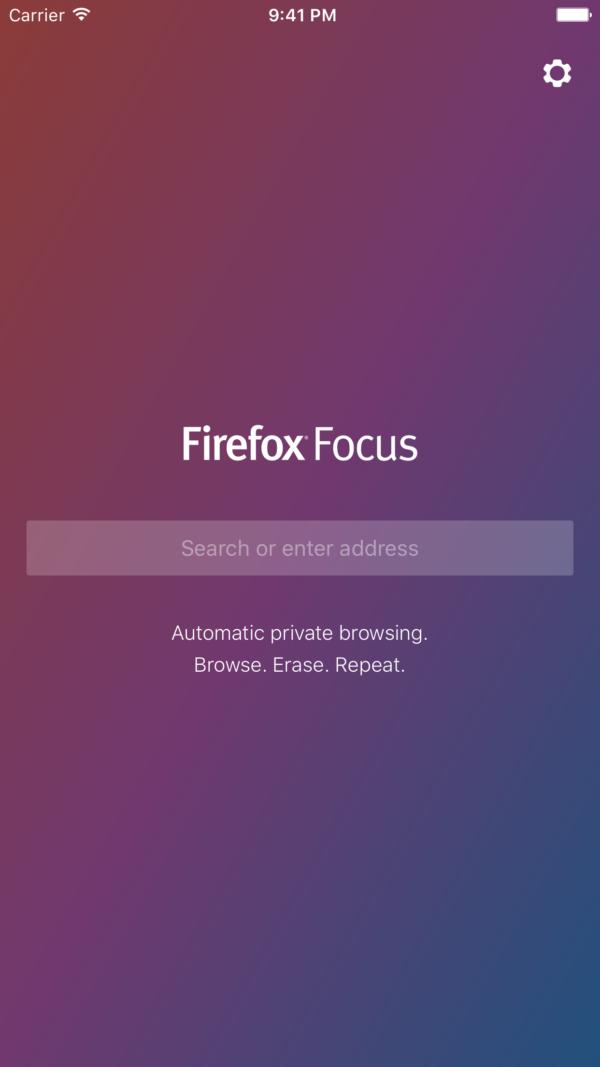 Firefox Focus:一个iOS的私人浏览器