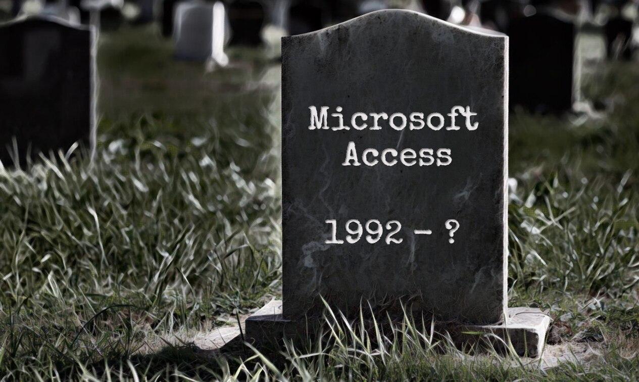 微软Access烂透了,为什么它还能活这么久?