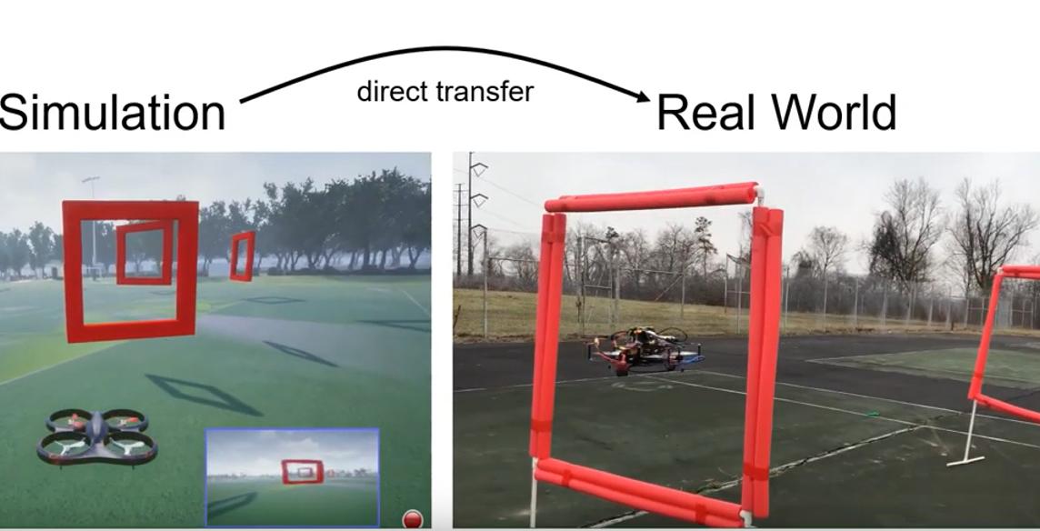 微软研究团队使用迁移学习,训练现实世界中的无人机