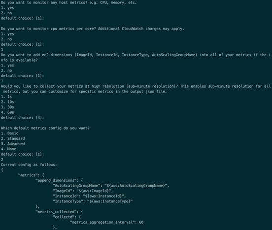 使用Cloudwatch Agent在Cloudwatch中收集、展现EC2的内存及系统、应用日志