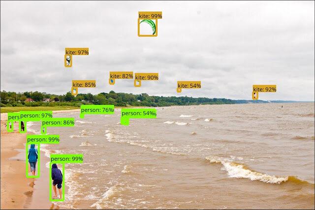 Google发布新的TensorFlow物体检测API