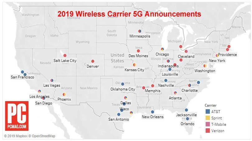 美国拟允许企业与华为合作制定5G标准