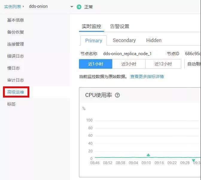 华为云文档数据库服务DDS监控告警全新优化