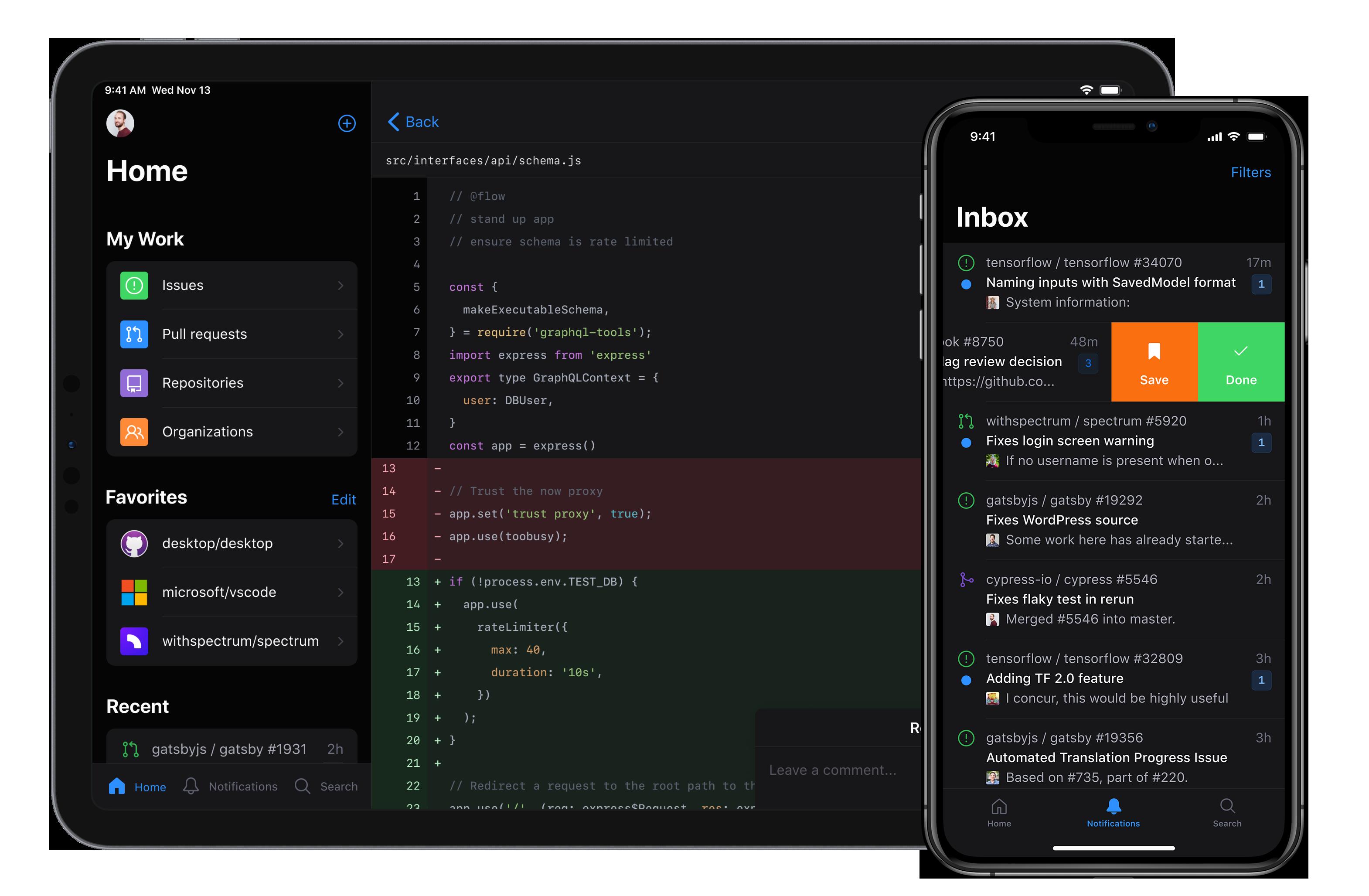 "GitHub App来了,iOS用户可""尝鲜"""