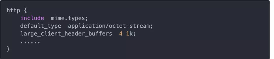 Nginx的client_header_buffer_size和large_client_header_buffers学习