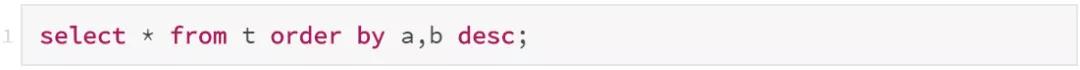 数据库大咖丁奇:MySQL索引存储顺序和order by不一致,怎么办?