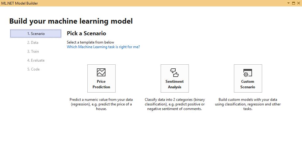 微软发布ML.NET 1.0,可一键添加机器学习模型