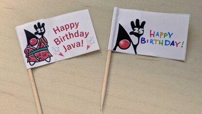 Java 25岁生日快乐