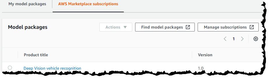 机器学习算法和模型包现已在 AWS Marketplace 上线