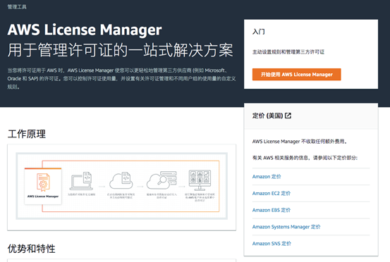 AWS License Manager 简介