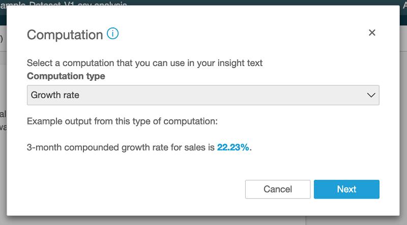 Amazon QuickSight 宣布正式发布 ML Insights