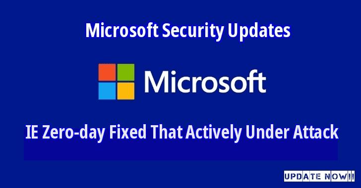 必看:微软修复74个安全漏洞,包括IE零日漏洞