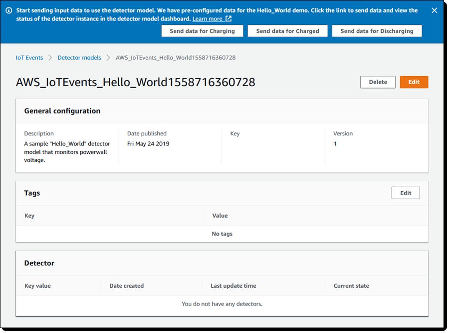 AWS IoT Events:大规模地检测和响应事件