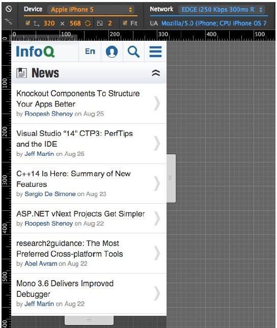 Google Chrome将新增设备模式,助力移动Web开发