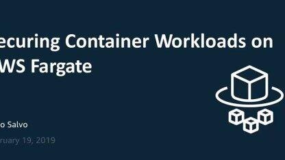 AWS Fargate,无服务器化容器解决方案
