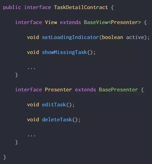 Android官方MVP架构示例项目解析