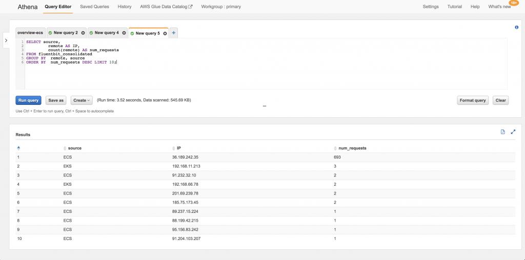 使用 Fluent Bit 实现集中式容器日志记录