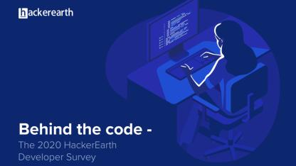 HackerEarth公布2020年开发者调查结果:Go是最受欢迎的编程语言