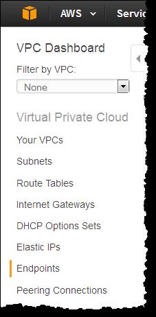 新机制——面向Amazon S3的VPC Endpoint