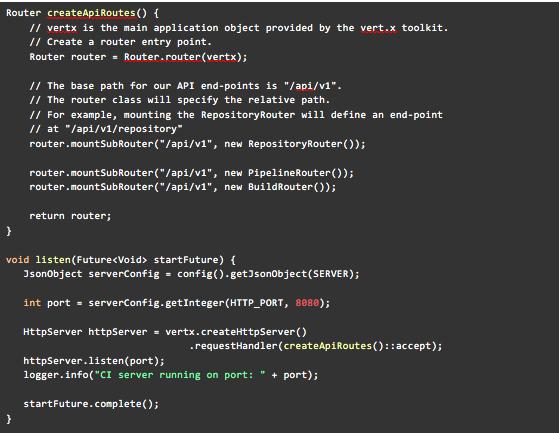 基于Java 9模块系统和Vert.x开发持续集成系统