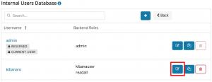 更改 Open Distro for Elasticsearch 中的 Admin 密码
