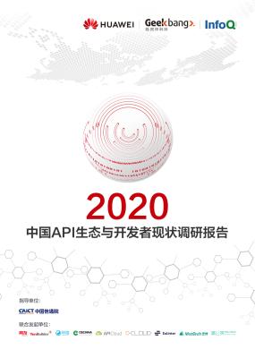 2020中国API生态与开发者现状调研报告