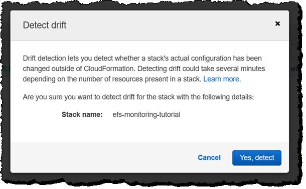 CloudFormation 配置偏离检测