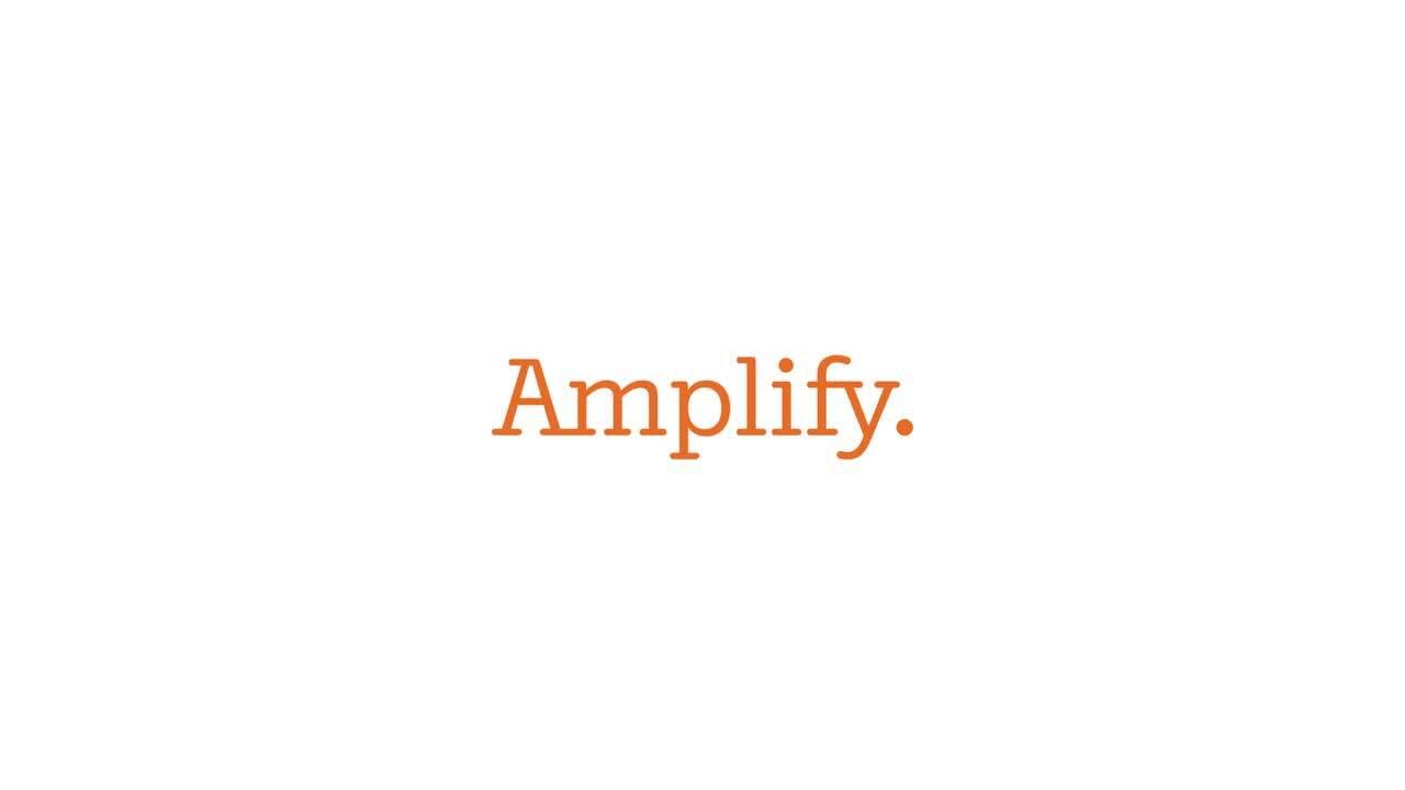 Amplify Framework 更新,快速为您的 Web 和移动应用程序添加机器学习功能