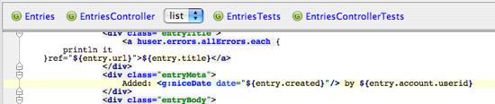 IntelliJ IDEA 7增加了对Groovy和Grails的支持