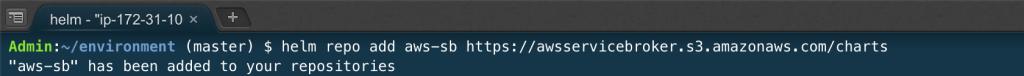 在 EKS 上使用 Kubernetes Service Catalog 和 AWS Service Broker